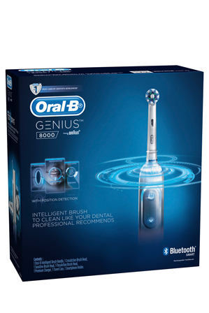 Oral-B - Genius 8000 toothbrush: white GEN8000W