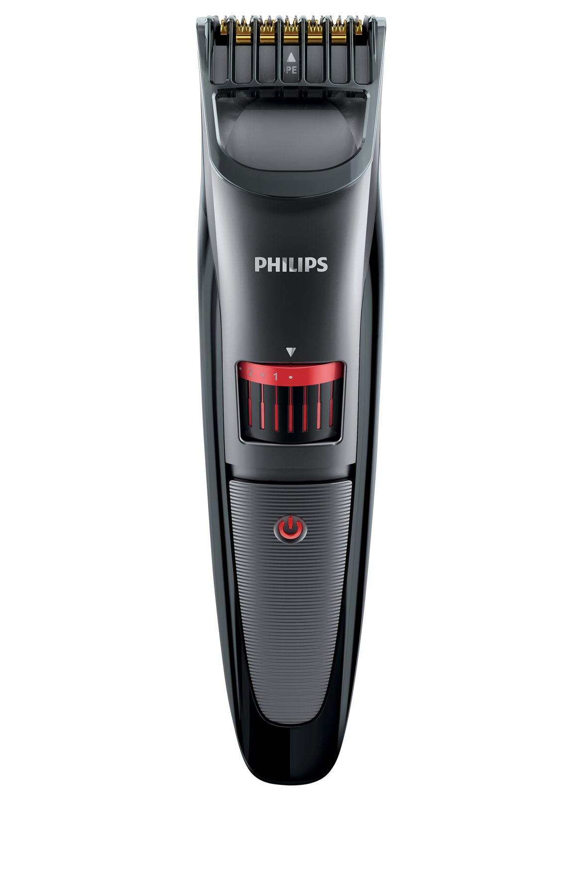 philips qt4015 beard stubble trimmer myer online. Black Bedroom Furniture Sets. Home Design Ideas
