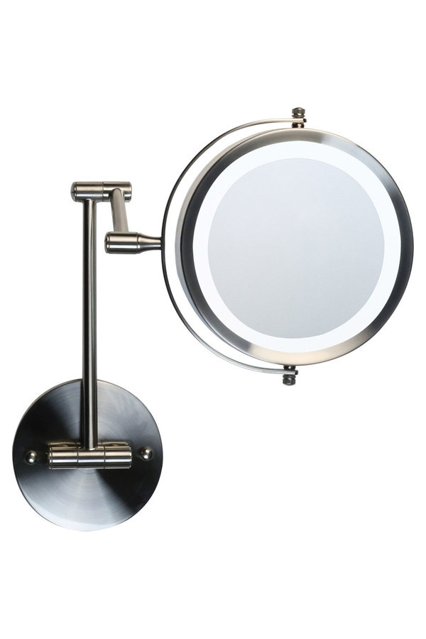 homedics m731led wall mounted double sided led vanity mirror myer online. Black Bedroom Furniture Sets. Home Design Ideas