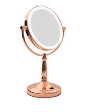 Homedics - LED Vanity mirror  Rose Gold