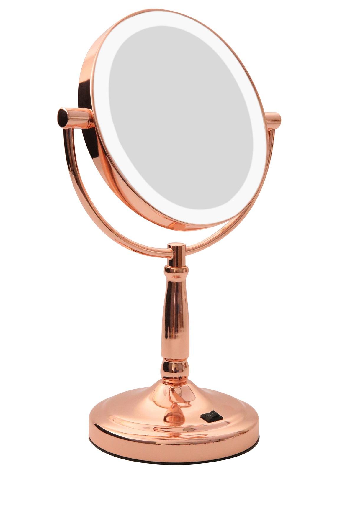 Homedics : LED Vanity mirror Rose Gold : Myer Online