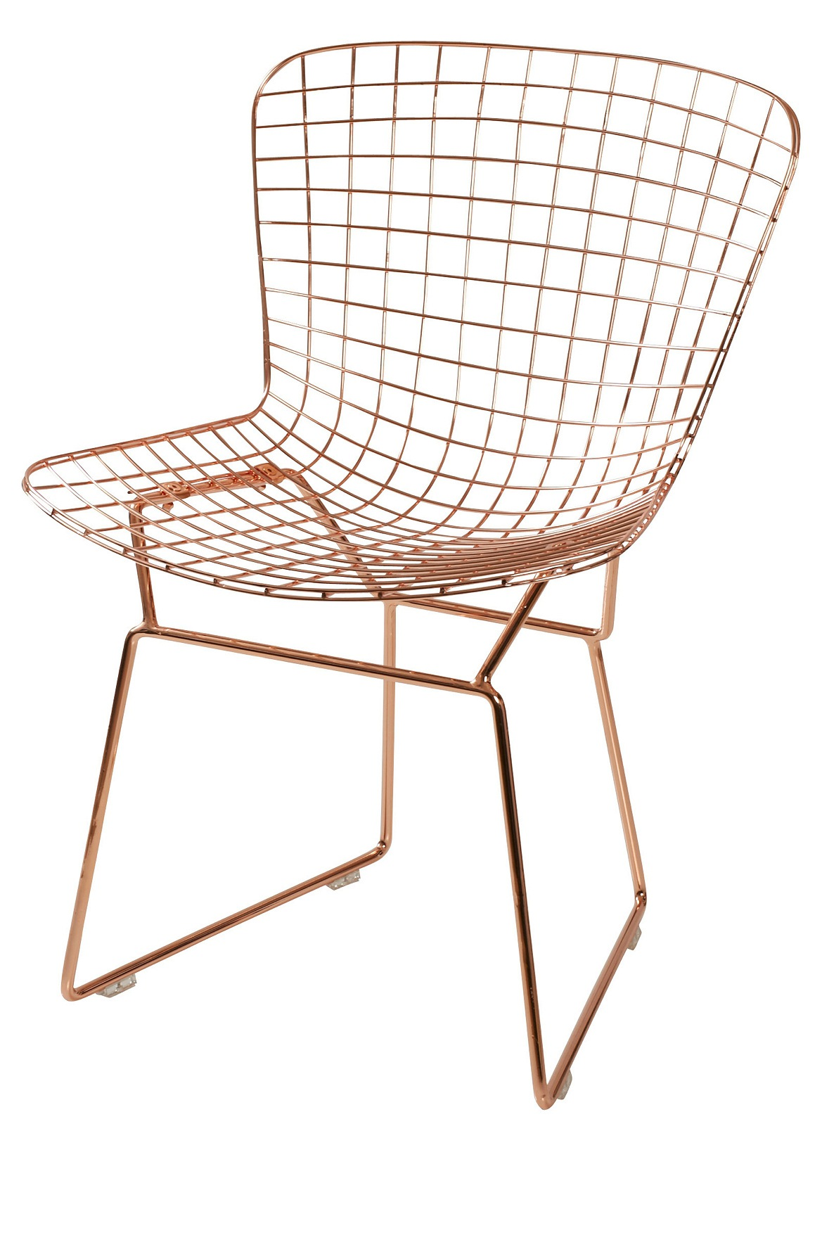 Beau Vue | Tribeca Desk Chair Wire With Copper Finish | Myer Online