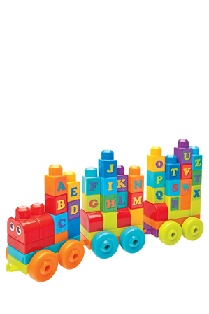 Mega Bloks - Abc Learning Train