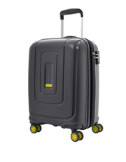 Lightrax Hardside Spinner Case Small 55cm Black 2.7kg