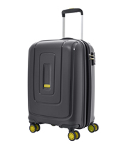 Lightrax Hardside Spinner Case Medium 69cm Black 3.7kg