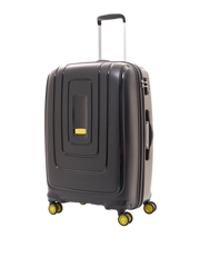Lightrax Hardside Spinner Case Large 79cm Black 4.4kg