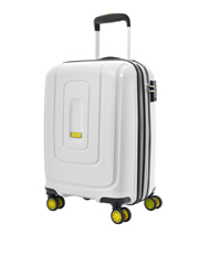 Lightrax Hardside Spinner Case Small 55cm White 2.7kg