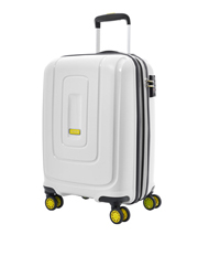 Lightrax Hardside Spinner Case Large 79cm White 4.4kg
