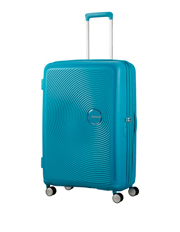 Curio Expandable Hardside Spinner Case Medium 70cm Turquoise 3.8kg