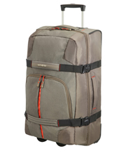 Rewind 68cm: 72.5L Wheeled Duffle: Taupe