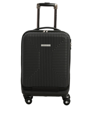 Business Cabin Carry on with Bonus 7 Piece Travel Accessory Pack - Black