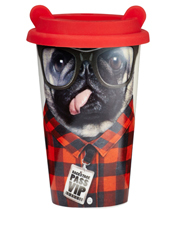 Mustard - Dog Travel Mug