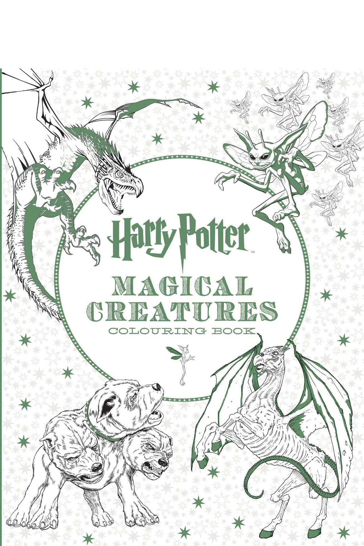 Harry Potter Magical Creatures Colouring Book Paperback