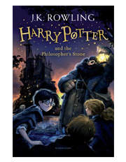 Harry Potter and the Philosopher's Stone by J. K. Rowling (paperback)