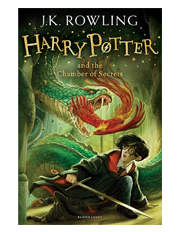 Harry Potter and the Chamber of Secrets by J. K. Rowling (paperback)