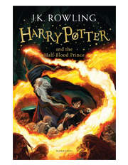 Harry Potter and the Half-Blood Prince by J. K. Rowling (paperback)