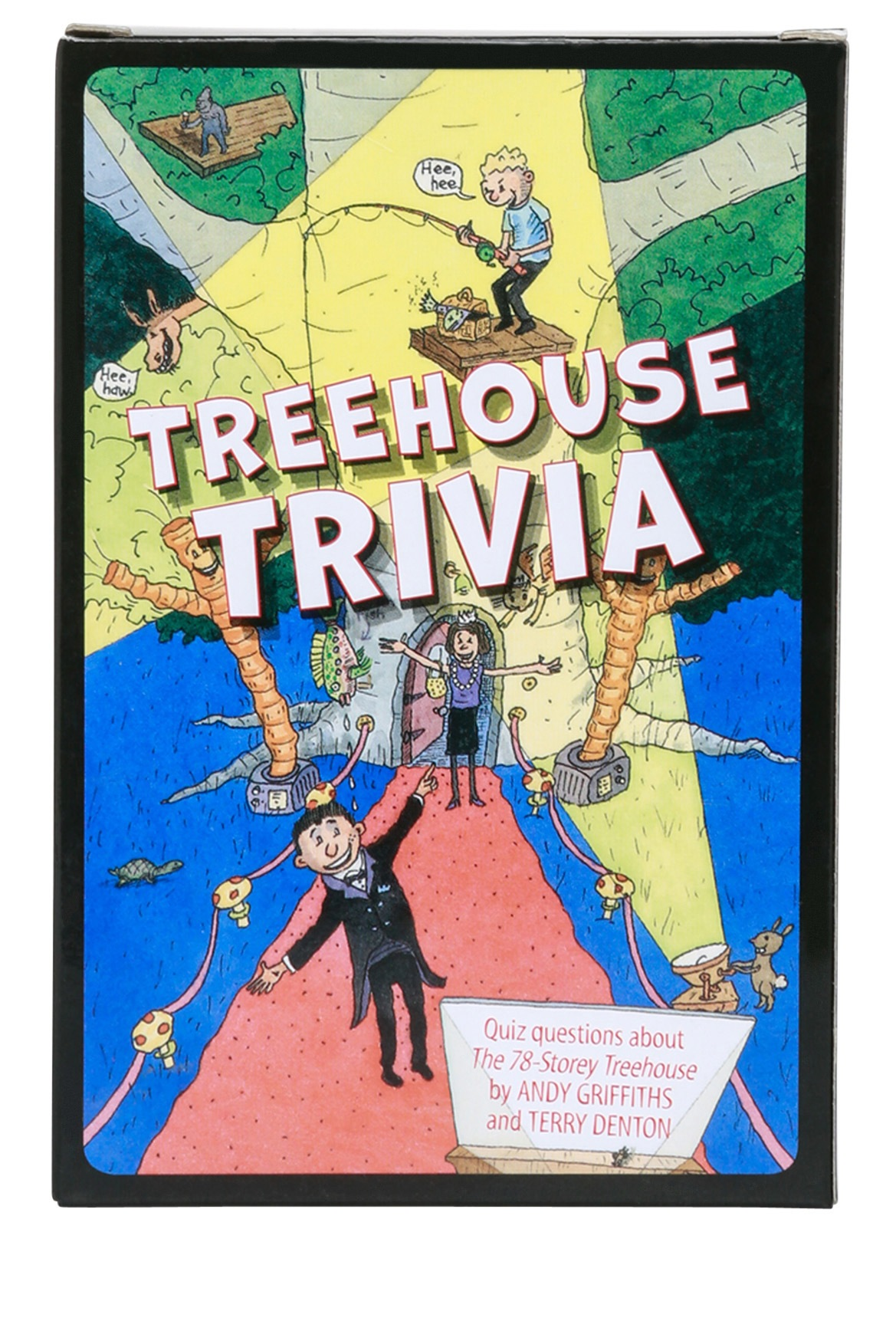Andy Griffiths Treehouse Part - 48: | Treehouse Trivia Cards: The 78-Storey Treehouse By Andy Griffiths U0026 Terry  Dentonby Andy Griffiths U0026 Terry Denton | Myer Online