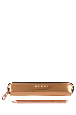 Ted Baker - Touchscreen Rose Gold Citrus Bloom Pen