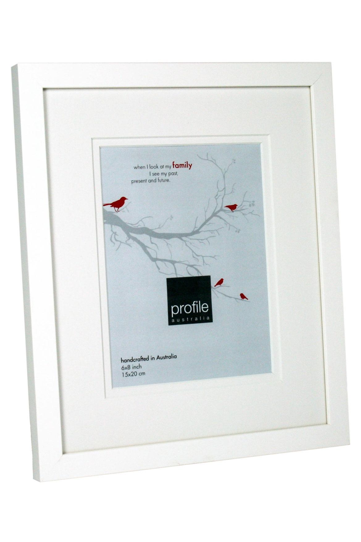 Profile | Deluxe 15x20cm White Frame | Myer Online
