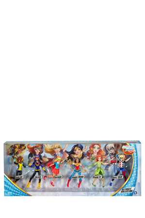 DC - Super Hero Girls Action Figure Gift Set