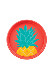 Pineapple Round Tray