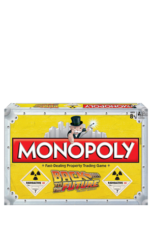 Board Games - Back to the Future Monopoly