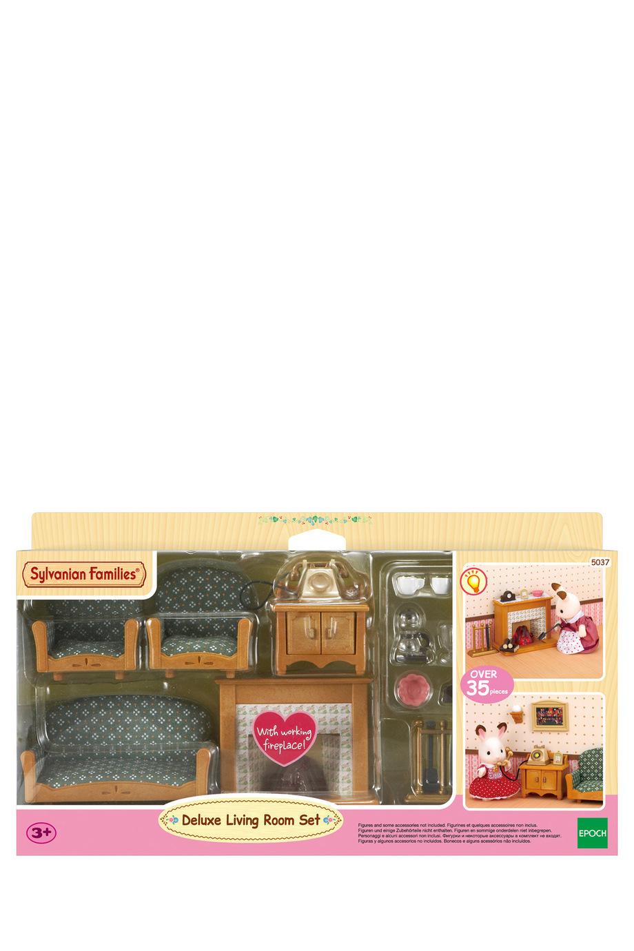 NEW Sylvanian Families Deluxe Living Room Set EBay