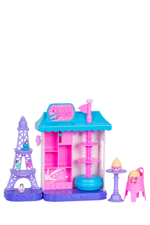 Shopkins - World Vacation Oh La La Macaron Cafe Playset