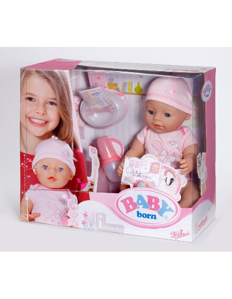 Baby Gift Myer : Baby born interactive doll myer