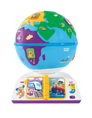 Smart Stages Plus Greetings Globe