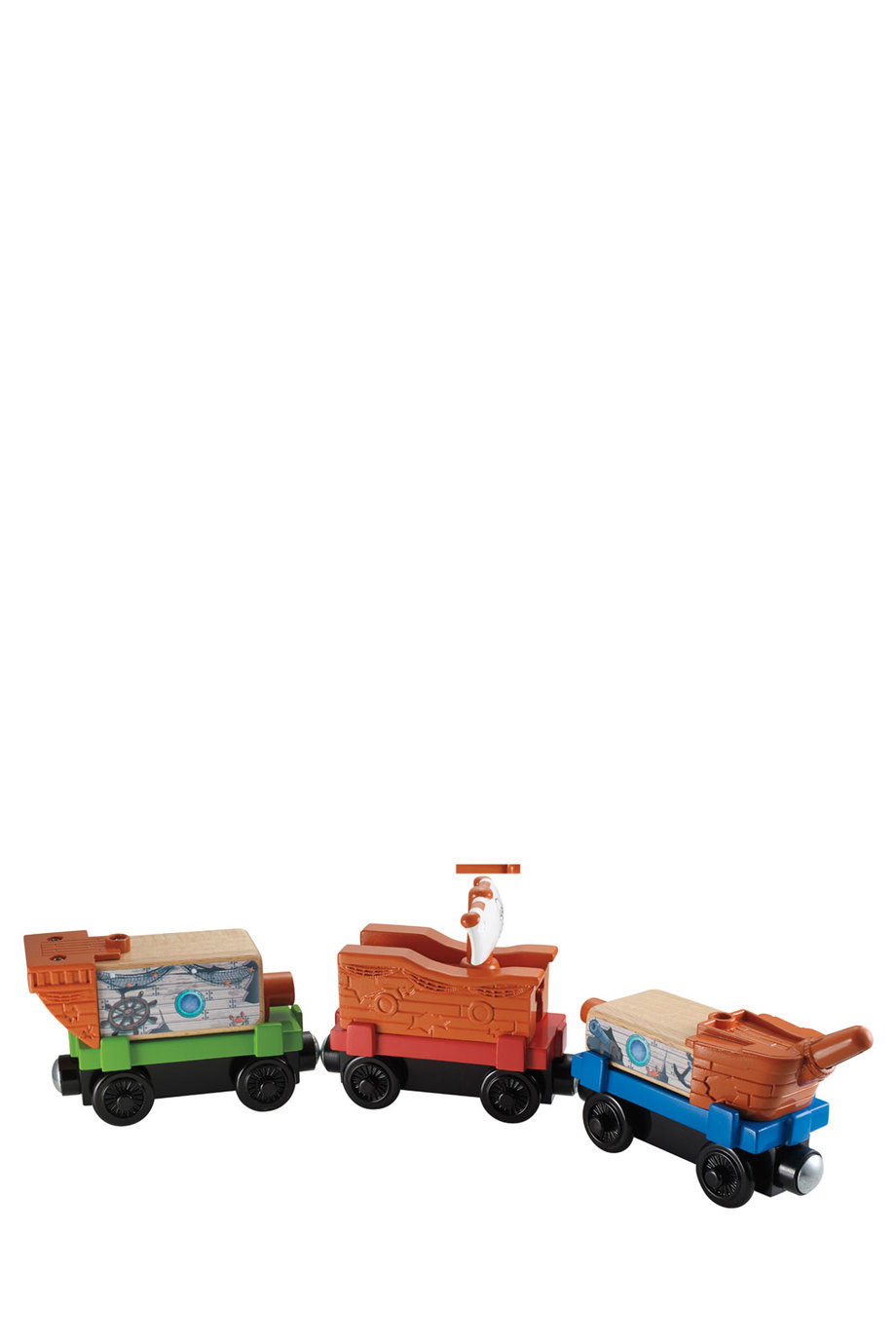 Thomas & Friends | Wooden Railway Pirate Cove Discovery 3 Pack ...