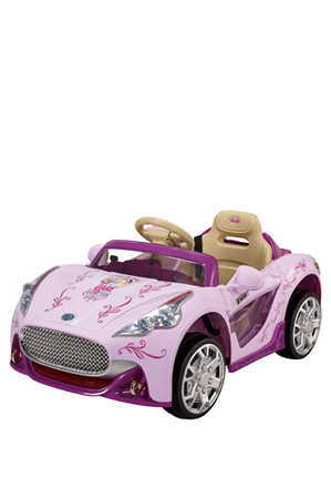 Barbie - 6v Convertible Forward and Reverse