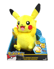 Pokemon - My Friend Pikachu Lights & Sounds Large Plush