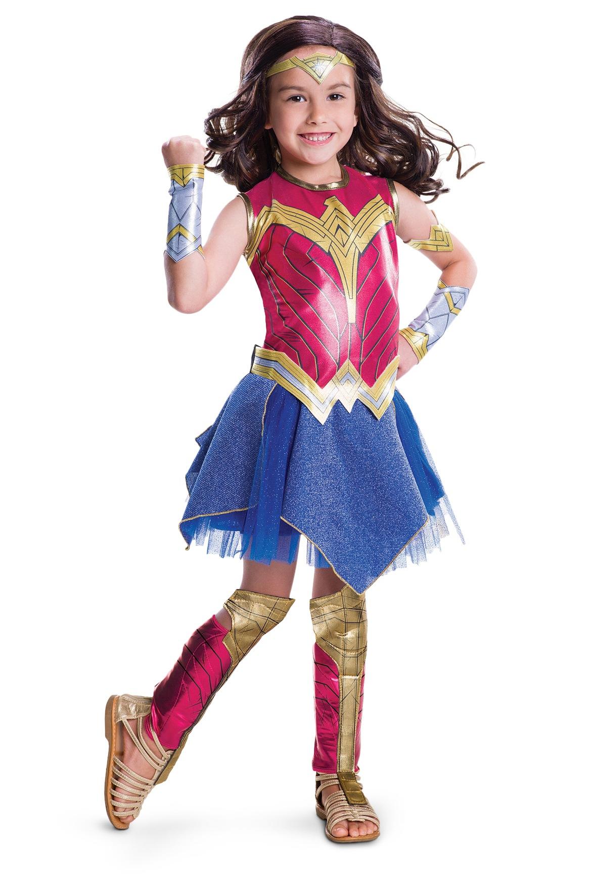 Superman v batman wonder woman deluxe costume size 4 6 myer online