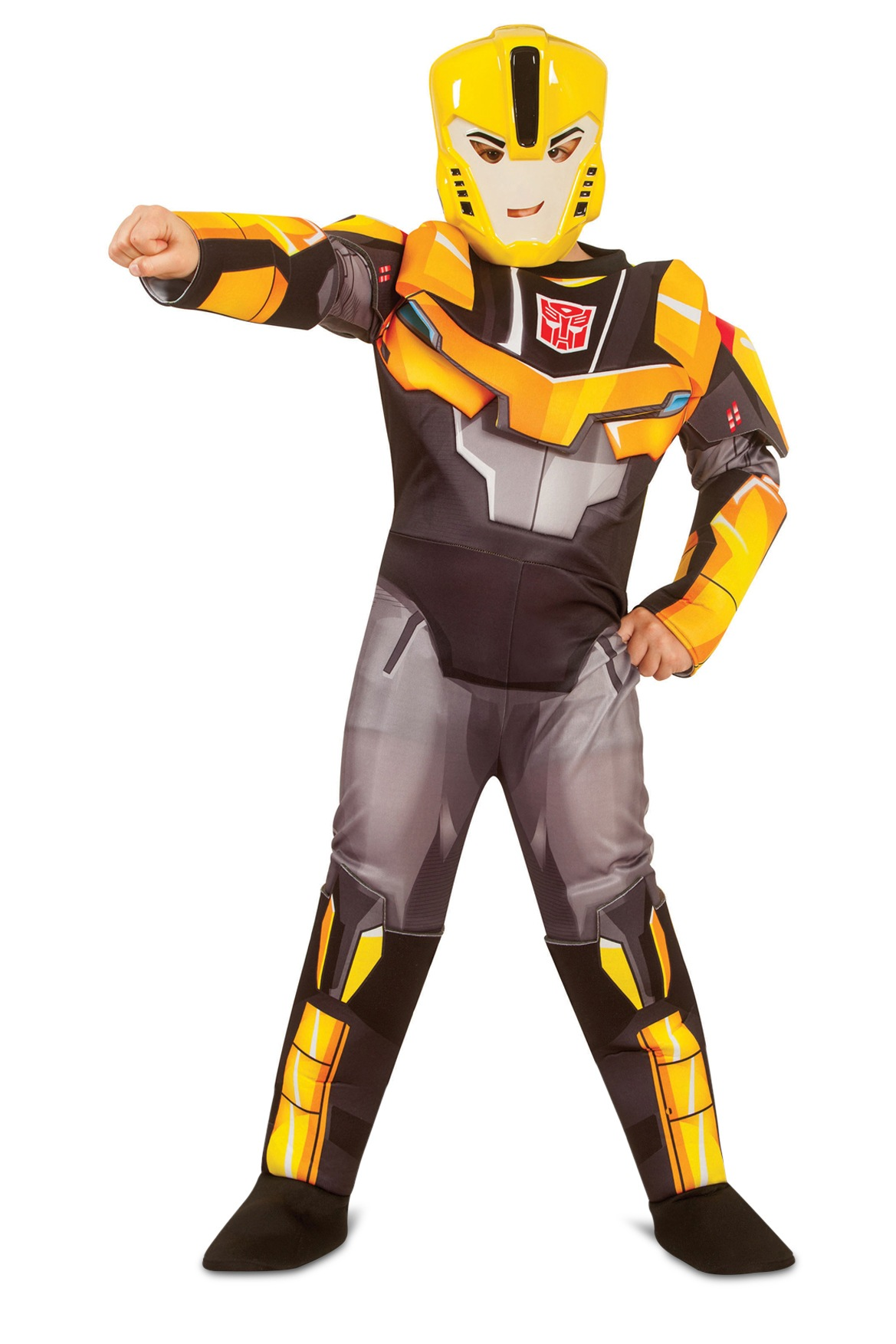 Transformers bumblebee deluxe costume 6 8 myer online solutioingenieria Choice Image