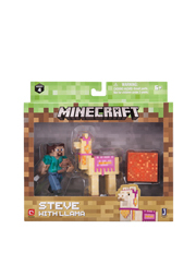Minecraft - Steve with Llama Pack