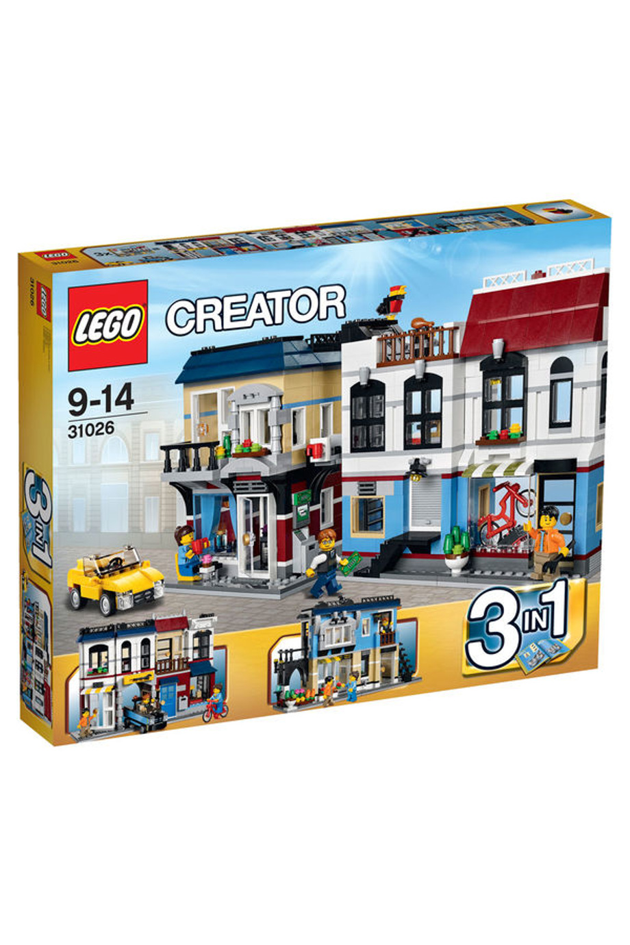 Lego | Creator Bike Shop & Cafe 31026 | Myer Online