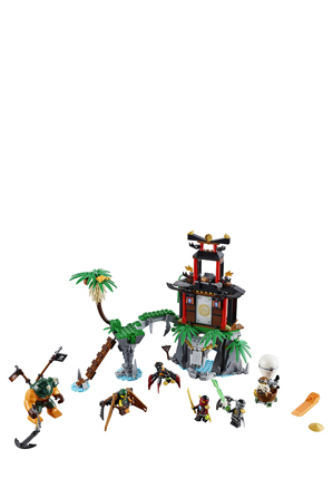 Lego - Ninjago Tiger Widow Island 70604