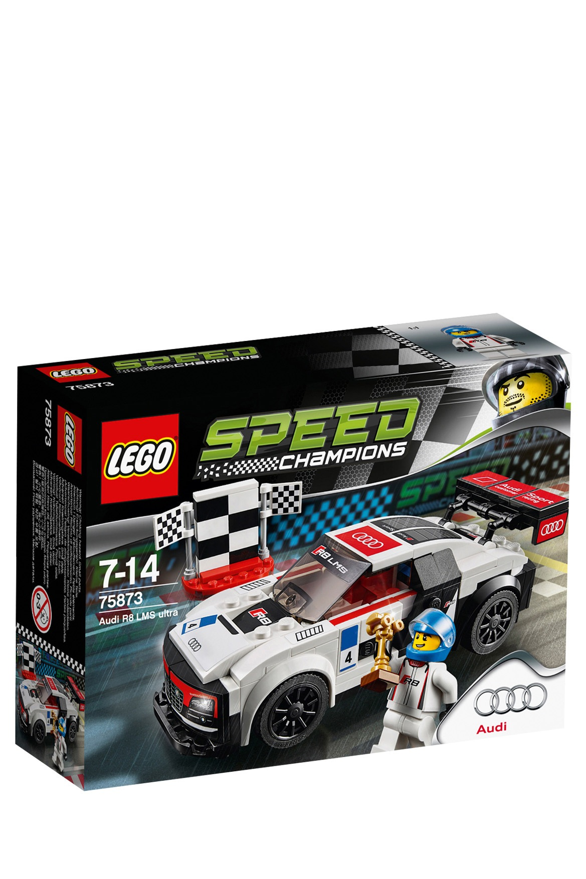 lego speed champions audi r8 lms ultra 75873 myer online. Black Bedroom Furniture Sets. Home Design Ideas