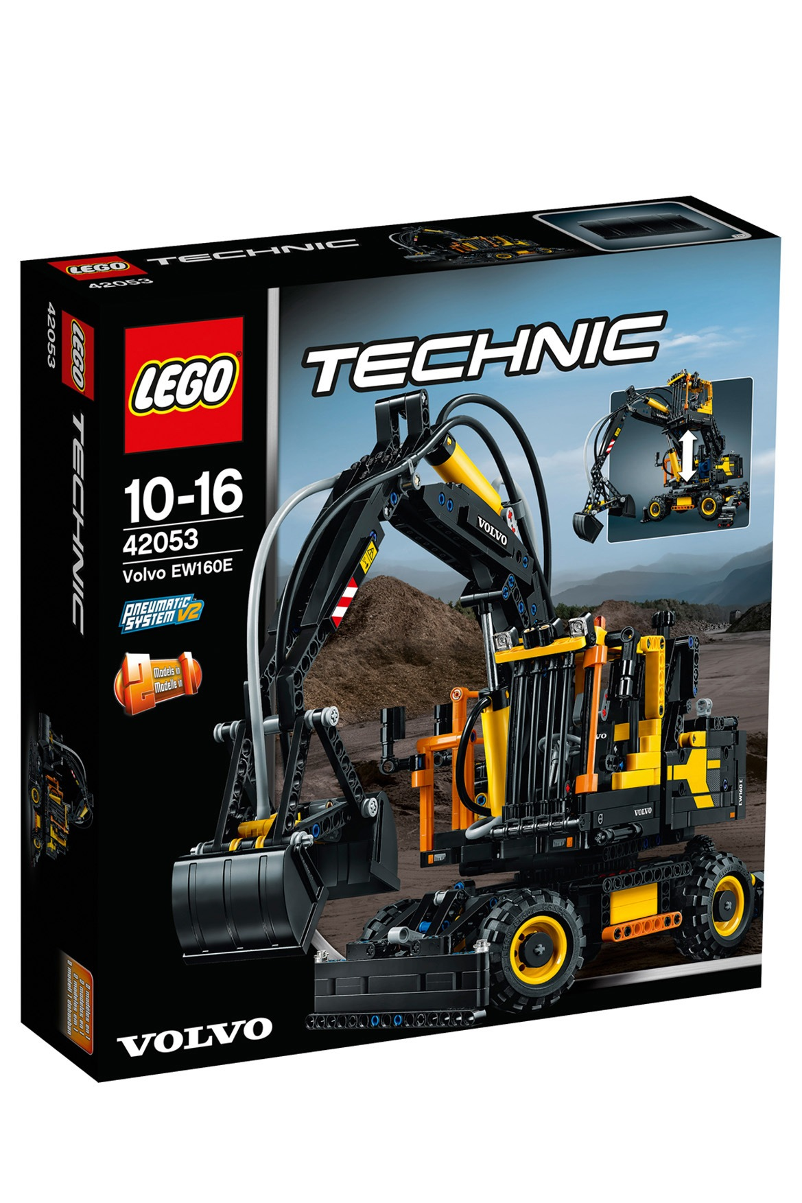 lego technic volvo ew160e 42053 myer online. Black Bedroom Furniture Sets. Home Design Ideas