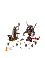 Lego - Ninjago Dawn of Iron Doom 70626