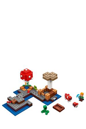 Lego   Minecraft The Mushroom Island 21129   Myer Online