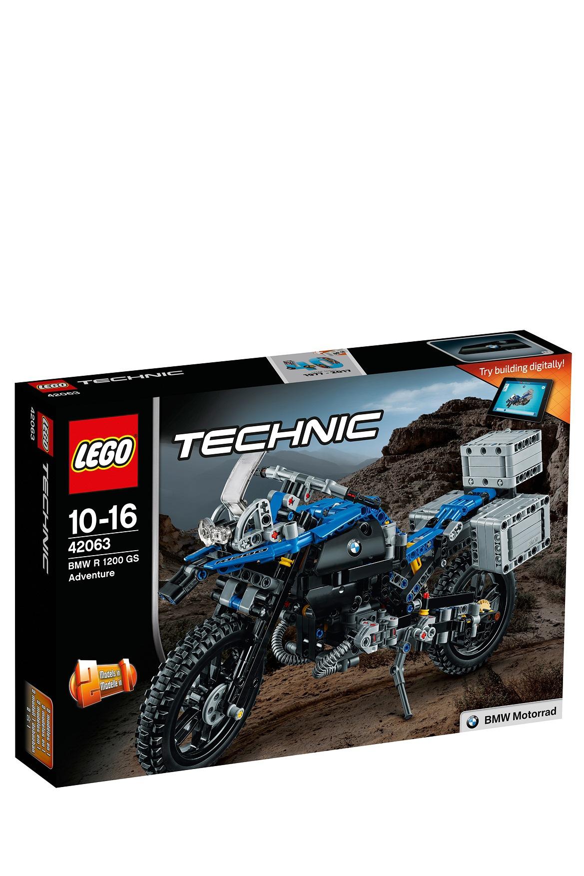lego | technic bmw r 1200 gs adventure 42063 | myer online