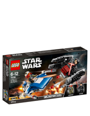 Star Wars A-Wing Vs. Tie Silencer Micro 75196
