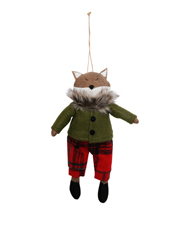 Eucalyptus  Felt Fox with Jacket and Pants