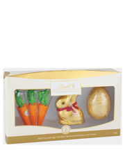 Myer online easter gifts gold bunny carrots egg gift box 130g negle Choice Image
