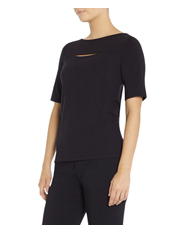David Lawrence - Grace Cut Out Detail Top