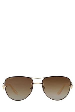 Bvlgari - 0BV6053BM 383204 GOLD Polarized Sunglasses