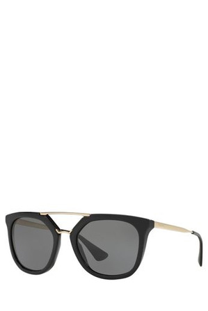 Prada - 0PR 13QS 393570 Black Polarized Sunglasses