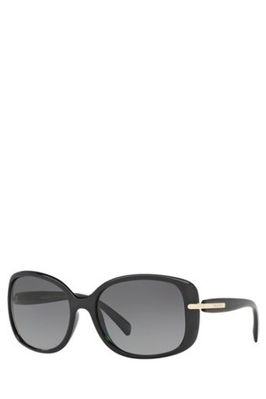 Prada - 0PR 08OS 393581 Black Polarized Sunglasses
